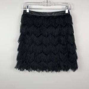 Sam Edelman Black Fiona Fringe Miniskirt 2